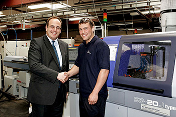 Northampton MP Meets Our Engineering Apprentice